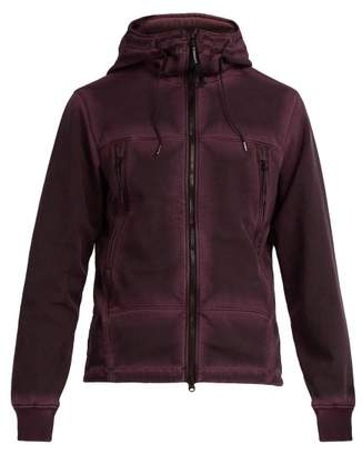 C.P. Company Goggle Hooded Jacket - Mens - Purple