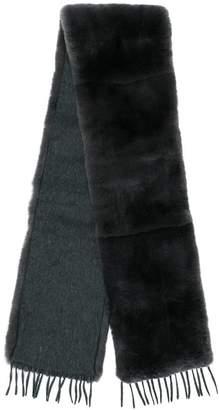 Max Mara fur scarf