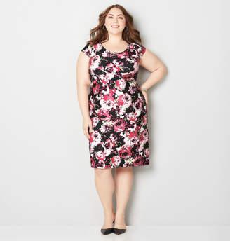 Avenue Brushed Rose Sheath Dress