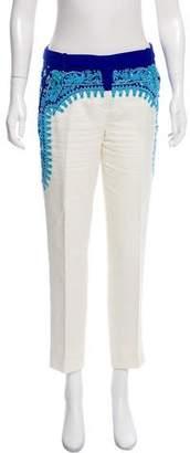 Emilio Pucci Embellished Mid-Rise Pants