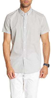 JB Britches Patterned Short Sleeve Shirt