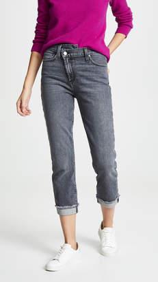 Alice + Olivia JEANS Amazing Asymmetrical Slim Straight Jeans