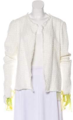 Ungaro Knit Layered Jacket