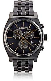 Nixon Men's Time Teller Chrono Watch-Rose