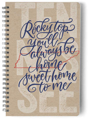 Tennessee Living Self-Launch Notebook