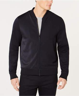 Ryan Seacrest Distinction Men's Mix-Texture Knit Jacket