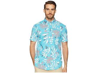 Reyn Spooner Perennial Pareau Tailored Fit Aloha Shirt Men's Short Sleeve Button Up