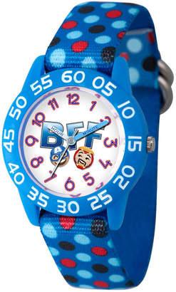 Marvel Emoji Boys Blue Strap Watch-Wma000083