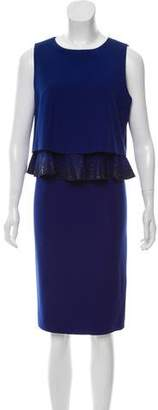 Armani Collezioni Embellished Midi Dress w/ Tags