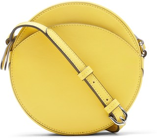 Banana Republic Italian Leather Circle Crossbody Bag
