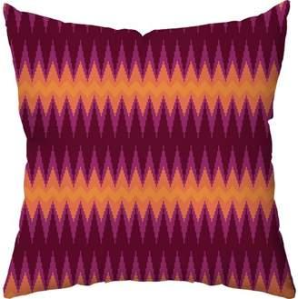 Checkerboard Lifestyle Aztec Chevron Fire Floor Pillow