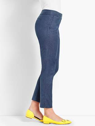 Talbots Chic Denim Slim Crop