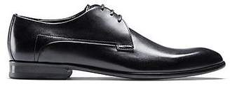 HUGO BOSS Calf-leather Derby shoes with full leather sole