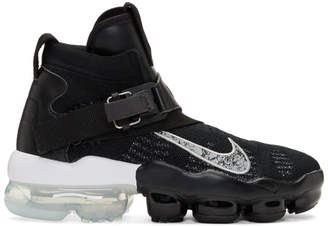 Nike Black and Silver VaporMax Premier Flyknit Sneakers