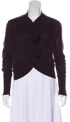 Max Mara Virgin Wool Knit Cardigan