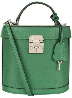 Mark Cross Benchley Grained Leather Shoulder Bag