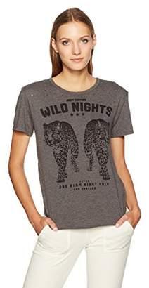 Juicy Couture Black Label Women's Wild Nights Leopard Graphic Tee