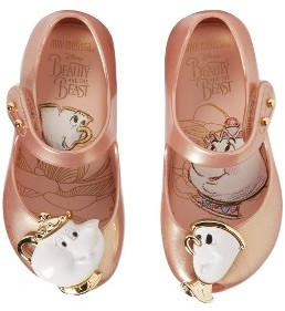 Toddler Girl's Mini Melissa Ultragirl Beauty & The Beast Mary Jane Flat