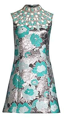 Michael Kors Women's Embroidered Shift Dress