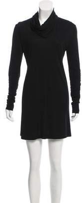 Herve Leger Long Sleeve Mini Dress