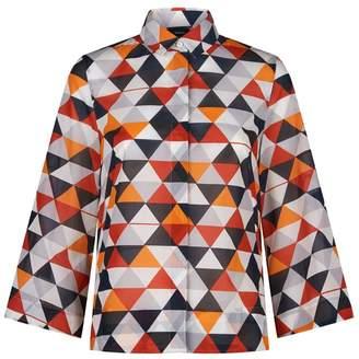 Akris Diamond Stripe Shirt