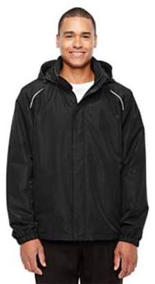Ash City - Core 365 Men's Tall Profile Fleece-Lined All-Season Jacket - BLACK 703 - LT 88224T