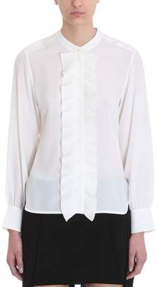 Chloé White Silk Shirt