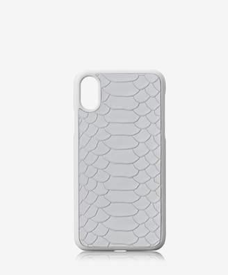 GiGi New York iPhone X Hard-Shell Case Embossed Python