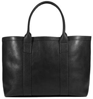 Lotuff Leather Working Tote in Black