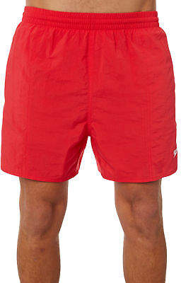 Speedo New Men's Solid Leisure Short Mesh Red