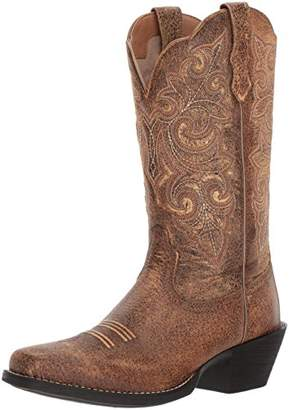 Ariat Women's Round up Square Toe Work Boot