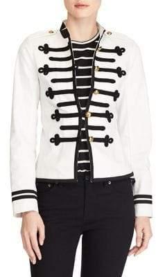 Lauren Ralph Lauren Military Denim Jacket