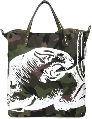 Valentino Panther Tote Bag