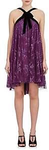 Philosophy di Lorenzo Serafini Women's Lace Mini Dress-Purple