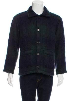 Highland Mohair Button-Up Jacket