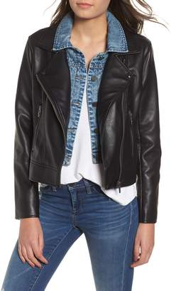 Blank NYC BLANKNYC The Cool Kid Faux Leather Moto Jacket