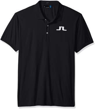 J. Lindeberg Men's Big Bridge Jersey Polo Shirt