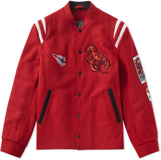 Lanvin Lobster Varsity Jacket