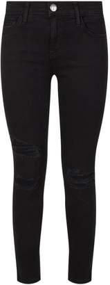 Current/Elliott Current Elliott Slashed Knee Stiletto Skinny Jeans