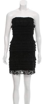 Melissa Odabash Strapless Lace Dress