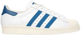 Superstar 80's Leather Sneakers $80 thestylecure.com