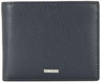Cerruti logo plaque bifold wallet