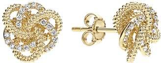 Lagos 'Love Knot' Diamond Stud Earrings