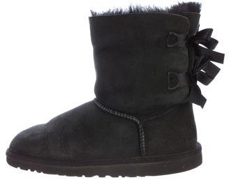 UGG Australia Bailey Bow Ankle Boots $95 thestylecure.com
