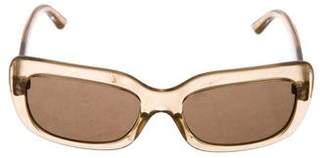 Prada Rectangle Tinted Sunglasses