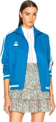 Etoile Isabel Marant Darcy Sporty Knit Track Jacket