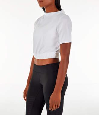 Reebok Women's Marble Melange No Waste Training T-Shirt