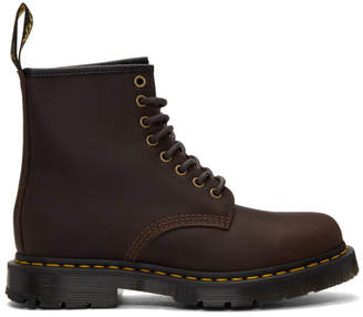 Dr. Martens Brown 1460 WinterGrip Boots