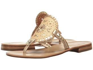 Jack Rogers Georgica Raffia Women's Sandals