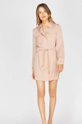 Greylin Frances Utility Jacket Dress